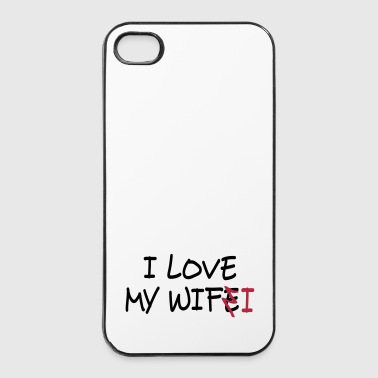 Relation I love my wife I / I love my wifi II 2c - iPhone 4/4s hard case