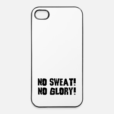 Fitness no sweat no glory - iPhone 4/4s hard case