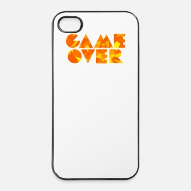 Game Over Game Over (Low Poly) - Custodia rigida per iPhone 4/4s