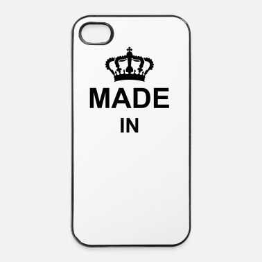 Nome Di Nascita corona_made_in_g1 - Custodia rigida per iPhone 4/4s