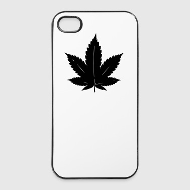 feuilles de cannabis - Coque rigide iPhone 4/4s