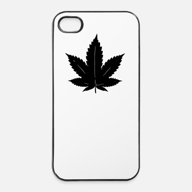 Skateboard feuilles de cannabis - Coque rigide iPhone 4/4s