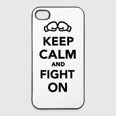 Keep calm and fight on - iPhone 4/4s Hard Case