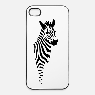 Zebra Zebra - Custodia rigida per iPhone 4/4s