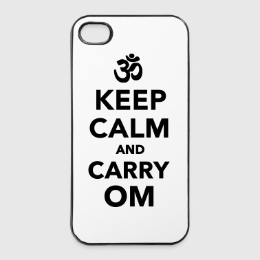 Keep calm and carry om - iPhone 4/4s Hard Case