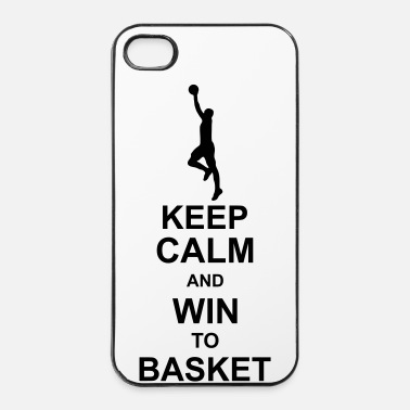 Fillette keep_calm_and_win_to_basket_g1 - Coque rigide iPhone 4/4s