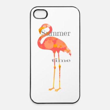 Sommer Flamingo Sommer - iPhone 4 & 4s Hülle