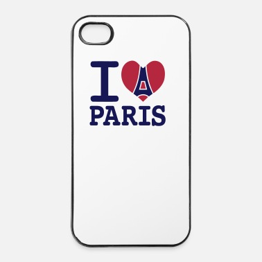 Ny I love Paris - Coque rigide iPhone 4/4s