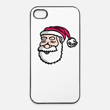 Noël Le père Noël - Coque rigide iPhone 4/4s