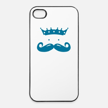Royaume moustache king - Coque rigide iPhone 4/4s