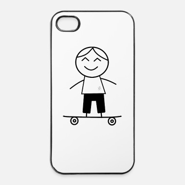 Skateboard skater boy - Coque rigide iPhone 4/4s