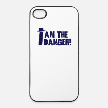 Surprise I am the danger with hat - Coque rigide iPhone 4/4s