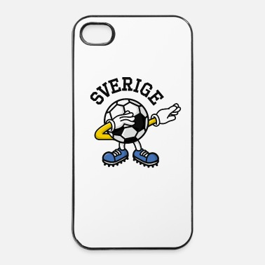 Campione Sverige Sweden dab dabbing soccer football - Custodia rigida per iPhone 4/4s