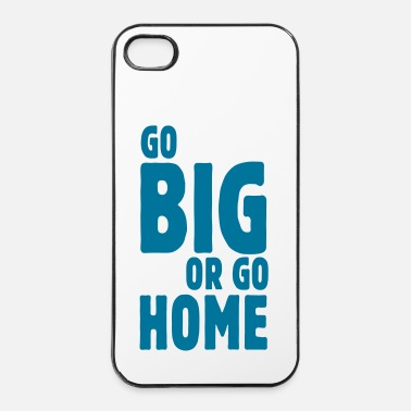 Inverno go big or go home i - Custodia rigida per iPhone 4/4s