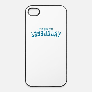 Légende it's going to be legendary - Coque rigide iPhone 4/4s