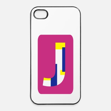 Name Letter J - iPhone 4 & 4s Case