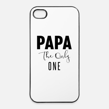 Originele PAPA-THE-ONLY-ONE - iPhone 4/4s hard case