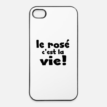 Weekend le rosé c'est la vie - Coque rigide iPhone 4/4s