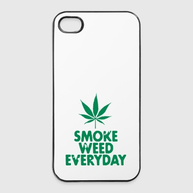 smoke weed everyday leaf - iPhone 4/4s Hard Case