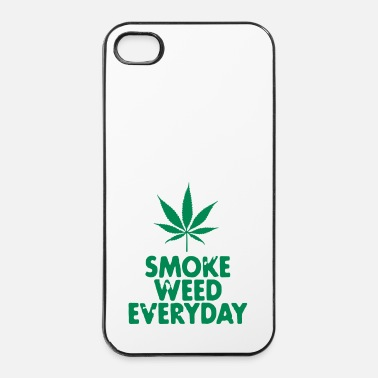 Trance smoke weed everyday leaf - Custodia rigida per iPhone 4/4s