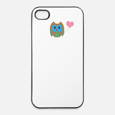 Ballon UIL met hart ballon - iPhone 4/4s hard case