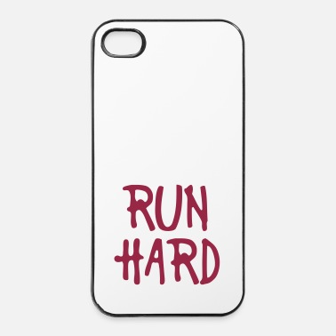 Correr run hard - Carcasa iPhone 4/4s