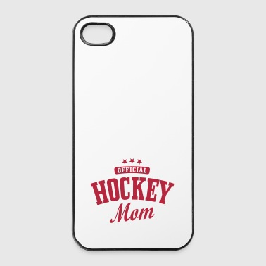 Hockey Hockey mom / hockey mother - Hårt iPhone 4/4s-skal
