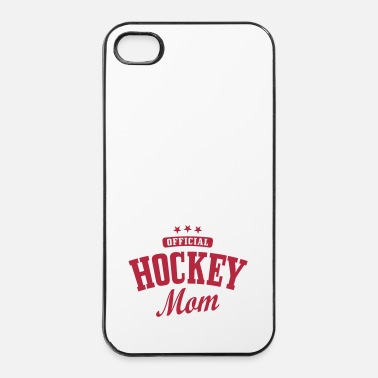Hockey Hockey mom / hockey mother - Coque rigide iPhone 4/4s