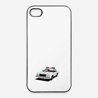 Polizei Police Car II - iPhone 4 & 4s Hülle