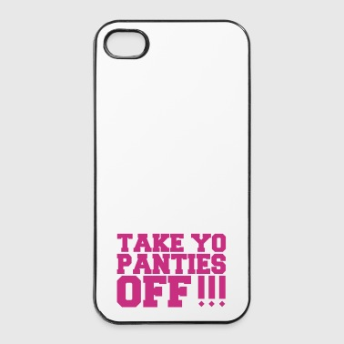 Baisse ta culotte - Coque rigide iPhone 4/4s