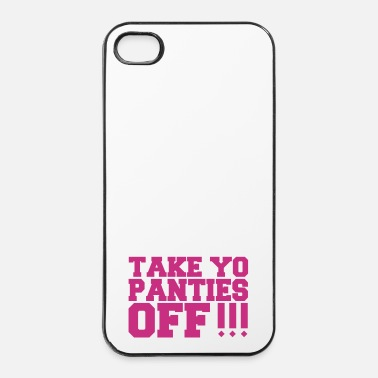 Trash Baisse ta culotte - Coque rigide iPhone 4/4s