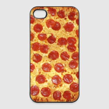 Pepperoni Pizza - Extra Chees (Pattern) Phone Case - Coque rigide iPhone 4/4s