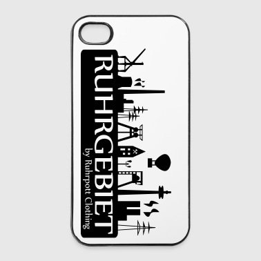 Skyline Ruhrgebiet by RPC - iPhone 4/4s Hard Case