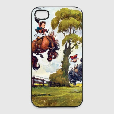 PonyRodeo Thelwell Cartoon  - iPhone 4/4s Hard Case
