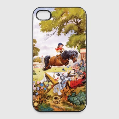 PonyTurnier Thelwell Cartoon - iPhone 4/4s Hard Case