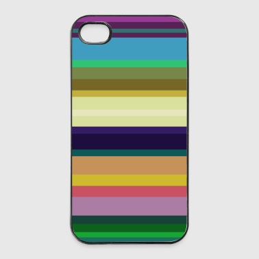 Stripes 1 - iPhone 4/4s Hard Case