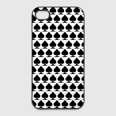 Pik poker Hülle - iPhone 4/4s Hard Case
