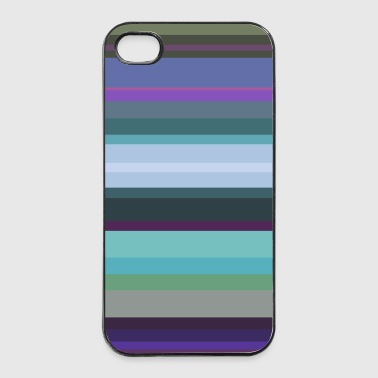 Stripes 3 - iPhone 4/4s Hard Case