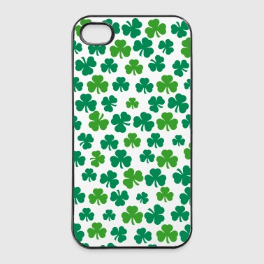 shamrocks hoesj - iPhone 4/4s hard case
