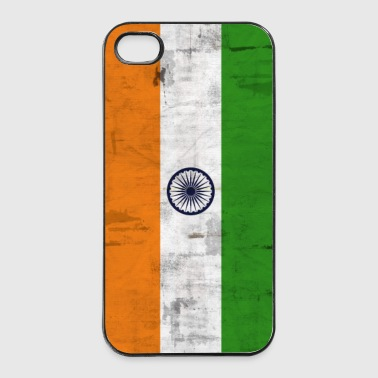 Flag India mobile phone - iPhone 4/4s Hard Case