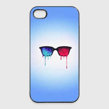 3D Psychedelic / Goa Meditation Glasses - iPhone 4/4s Hard Case