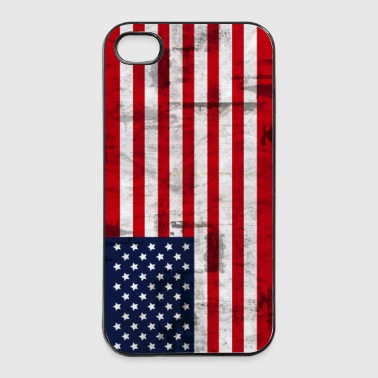 Amerikanische Fahne  American Flag - iPhone 4/4s Hard Case