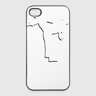 fight_stylisch_1_faribg - iPhone 4/4s Hard Case
