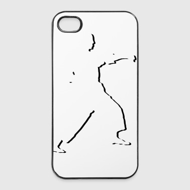 fighter_stylisch_1_farbig - iPhone 4/4s Hard Case