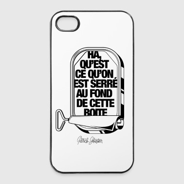 Les Sardines - Coque rigide iPhone 4/4s