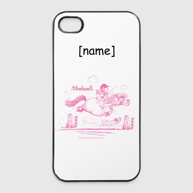 PonySprung Rosa Thelwell Cartoon - iPhone 4/4s Hard Case