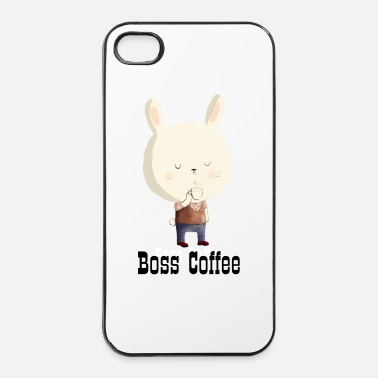 Morning Rabbit and Morning Coffee T-Shirts - iPhone 4 & 4s Case