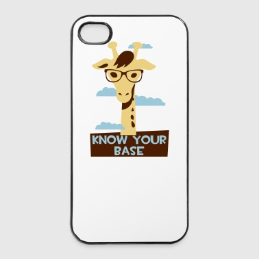 Giraffe, Know your base Mobil- & tablet-covers - iPhone 4/4s Hard Case