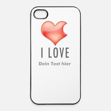I Love I LOVE - iPhone 4 & 4s Hülle