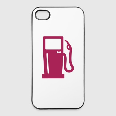 Station d'essence - Coque rigide iPhone 4/4s
